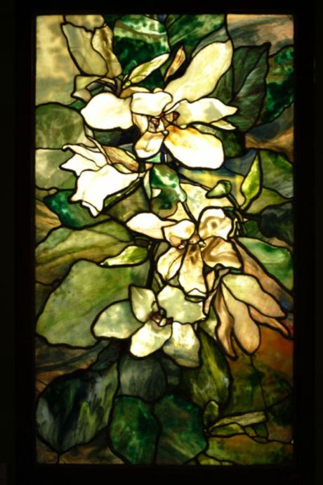 Magnolia Window, c. 1900, Tiffany Studios, The State Hermitage Museum, St. Petersburg